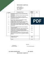 Prota Aqidah Kelas VIII KTSP
