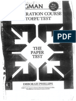 The ibt toefl course test preparation for pdf longman
