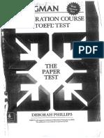 The ibt toefl course test preparation for pdf longman