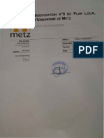 Modification PLU n°8 de Metz pour la mosquée