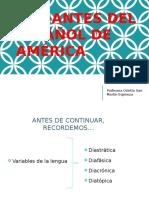 Variantes Del Español