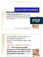 God (Allah)Consciousness