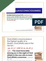 God (Allah)Consciousness