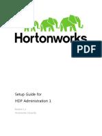 HDP Admin 1 Download VM SetupGuide