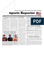 April 12 - 18, 2017  Sports Reporter
