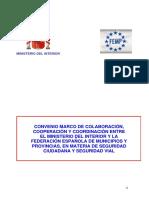 Texto Oficial Convenio Marco MIR-FEMP 2007