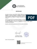Certifica Do 165516