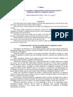 Evoluţia conceptelor şi reglementărilor privind protecţia juridică a drepturilor omului şi a dreptului la apărare