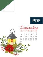 14 - Planner 2017 - Casinha Arrumada - Mês Dezembro