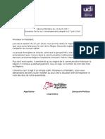 Question Orale UDI Sur Logo
