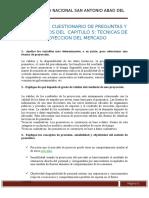 Cuestionario Cap 5 Proyectos de Inversion