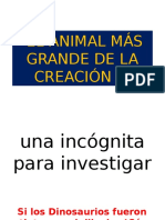 El Animal Mas Grande de La Creacion 2[1]