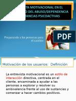 2.ENTREVISTA MOTIVACIONAL EN EL TRATAMIENTO DEL ABUSO DEPENDENCIA DE SUSTANCIAS.ppt
