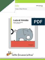 Programa y actividades Luis El Timido