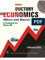 Introductory Economics (12th Class CBSE)