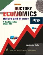 Introductory Economics (12th Class CBSE)