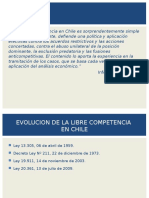 Libre Competencia en Chile Situación Actual