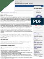Suggestopedia as NLP | JALT Publications