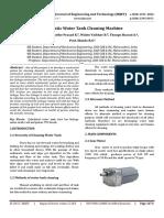 340810815 IRJET Automatic Water Tank Cleaning Machine