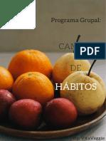 Información Programa CAMBIO de HÁBITOS