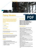 Piping Vibration Training