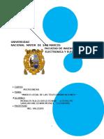 Marco Legal de Las Telecomunicaciones- microondas