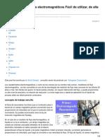 Automation.isa.Org-Primer Caudalímetros Electromagnéticos Fácil de Utilizar de Alta Precisión