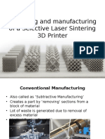 Designing and Manufacturing of a Selective Laser Sintering