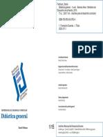 INFD Feldman - Didáctica Eneral - Cap 3