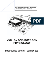 Dental Anatomy and Physiology - US Army Medical School.pdf
