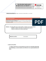 Guía de Ejercicio Origen y Teoría de La Corriente Alterna y Sus Circuitos