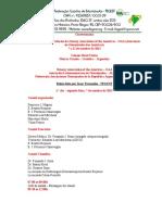 Relatório 1a. Jornada da OAA/2013