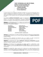 Normas Reguladoras Liga Nacional 2016 Pub