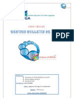 Rapport de Mini3A Gestion de bulletin de notes visual basic (ado.net)