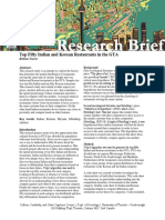 final research brief