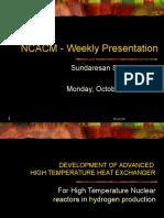 Seminar 102703 Sundar HTEX
