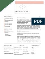 Mael Arpeni Resume