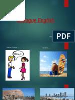 Dialogue English