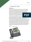 IP Telephone - Cisco - 7965