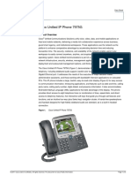 IP Telephone - Cisco - 7965