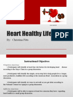 heart healthy lifestyle powerpoint