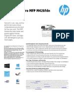 Printer-Fax - HP - MFPM426fdn