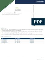 UHF Antenna Procom Cxl 70 5ct 12f