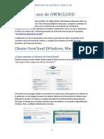 Owncloud Usuario Castellano