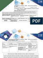 Guía de Actividades y Rubrica de Evaluación - Fases 2 y 3 – Trabajo Colaborativo y Evaluación Vectores, Matrices y Determinantes (1)