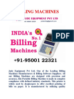 Chennai No.1 Billing Machines Manufacturers in Tamil Nadu - Jude Equipment Pvt Ltd (1)