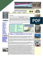 GUIDA AL RADIOASCOLTO Frequenze e Utilita Della Radio Emergenza