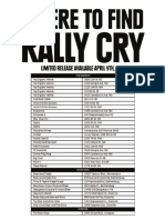 Rally Cry locations