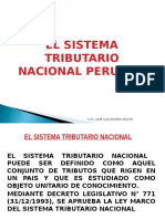 Clase 1 Sistema Tributario Peruano