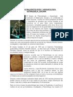 Estanzuela, Zacapa Museo de Paleontología y Arqueología
